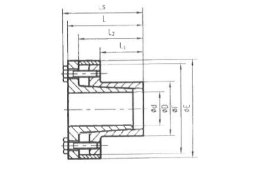 T technical drawing