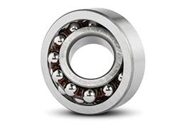 Self aligning ball bearing