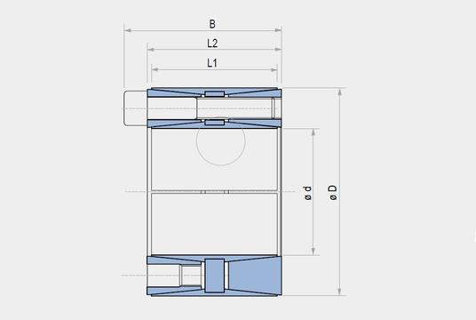 Tlk400 technical drawing
